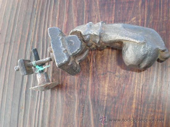 Antigüedades: llamador de hierro de forja - Foto 3 - 21490930