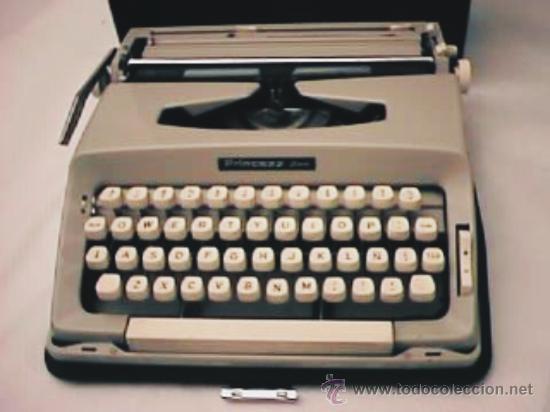 MÁQUINA DE ESCRIBIR PRINCESS 500 (Antigüedades - Técnicas - Máquinas de Escribir Antiguas - Otras)