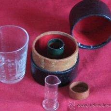 Antigüedades: ANTIGUA MEDIDA DE MEDICO DE VIAJE. Lote 21675692