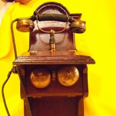 Teléfonos: ANTIGUO TELÉFONO DE PARED. LA TELEPHONIE GENERALE J.PIERRE. Lote 21895896