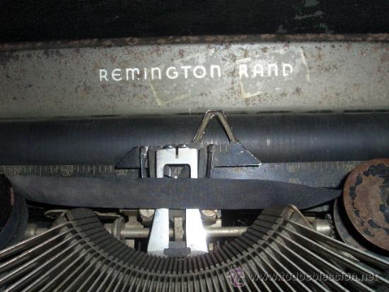 Antigüedades: Máquina escribir Remington - Foto 2 - 25654866