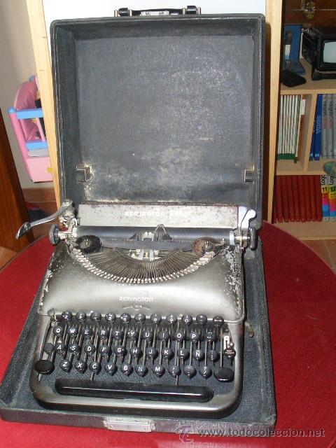 Antigüedades: Máquina escribir Remington - Foto 3 - 25654866