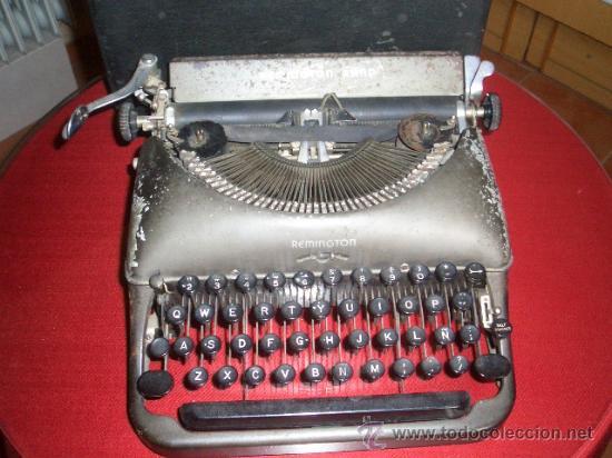 Antigüedades: Máquina escribir Remington - Foto 4 - 25654866