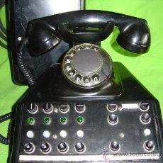 Teléfonos: TELEFONO DE HIERRO TIPO CENTRALITA ESTA COMPLETA CON LA CAJA DE CONEXIONES INCLUIDA.. Lote 26565313