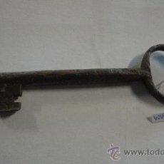 Antigüedades: LLAVE DE 19 CM APROXIMADAMENTE. Lote 21979498