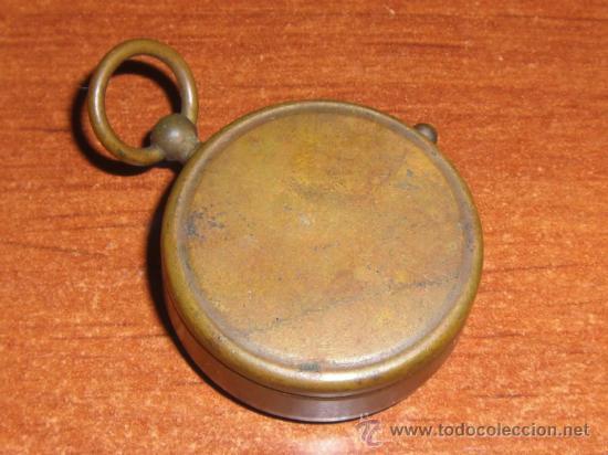 Antigüedades: Pequeña brújula alemana de principios del siglo XX - Foto 3 - 22092349