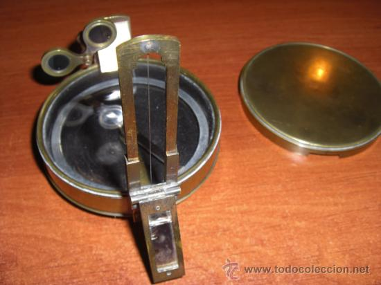 Antigüedades: Interesante brújula de principios del siglo XX - Foto 6 - 22092375