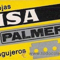 Antigüedades: CAJA DE HOJAS DE AFEITAR PALMERA MSA. Lote 26329299