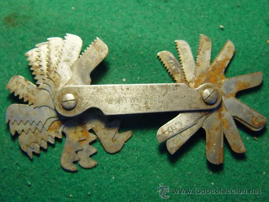 Antigüedades: GALGAS PARA ROSCA - WHITWORTH 55º - - Foto 4 - 26344968