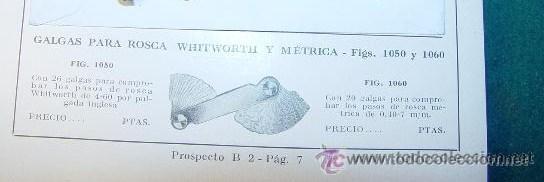 Antigüedades: GALGAS PARA ROSCA - WHITWORTH 55º - - Foto 9 - 26344968