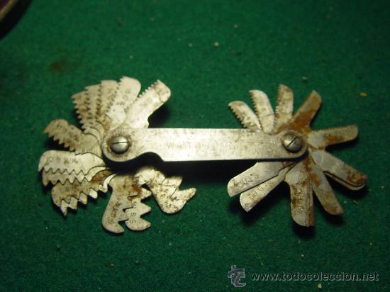 Antigüedades: GALGAS PARA ROSCA - WHITWORTH 55º - - Foto 7 - 26344968