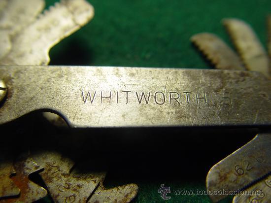 Antigüedades: GALGAS PARA ROSCA - WHITWORTH 55º - - Foto 6 - 26344968