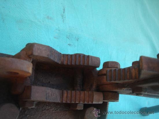 Antigüedades: DETALLE PARA EL ENGANCHE DE LOS TUBOS - Foto 18 - 26344882
