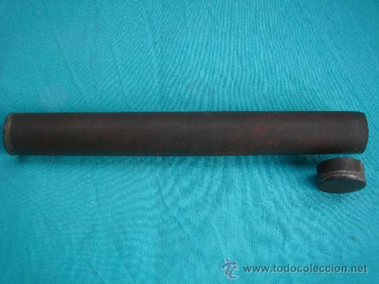 Antigüedades: VISTA DE SU ENVOLTORIO METÁLICO PROTECTOR - Foto 5 - 26443595