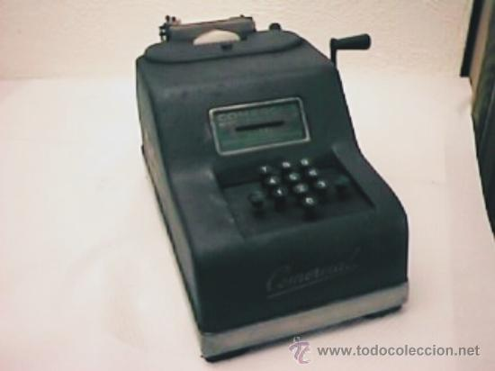 MÁQUINA CALCULADORA COMERCIAL (Antigüedades - Técnicas - Aparatos de Cálculo - Calculadoras Antiguas)