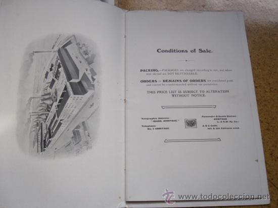 Antigüedades: CATALOGO DE MATERIAL SANITARIO INGLES APROX 1920 - LAVABOS BIDETS URINARIOS WC ETC CORREO 2.8€ - Foto 2 - 22498363