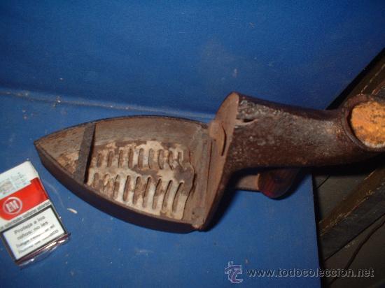 Antigüedades: plancha de chimenea-antigua - Foto 3 - 26535313