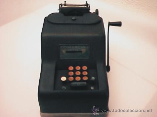 MÁQUINA CALCULADORA COMERCIAL (ESPAÑOLA) (Antigüedades - Técnicas - Aparatos de Cálculo - Calculadoras Antiguas)