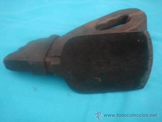 Antigüedades: VISTA DE LA PIEZA DE HIERRO - Foto 6 - 26675215