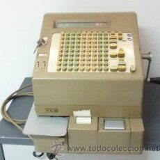 Antigüedades: COLECCIÓN NATIONAL-NCR-TERMINAL FINANCIERO MODELO 41- CAJA REGISTRADORA HASTA FEB- 1969 EN PATERNA. Lote 209317971