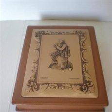 Antigüedades: AGENDA EN PIEL. Lote 22767156