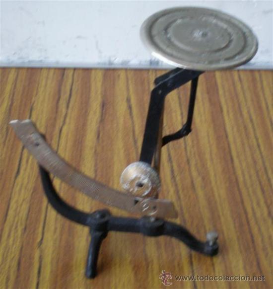 PESA CARTAS (Antigüedades - Técnicas - Medidas de Peso Antiguas - Otras)