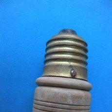 Antigüedades: ELECTRICIDAD. ENCHUFE PARA PORTALAMPARA DE BOMBILLA.. Lote 23009986