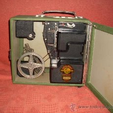 Antigüedades: PROYECTOR DE 8 M/M MARCA DRALOWID AÑO 1950 MADE IN GERMANY. Lote 27071407