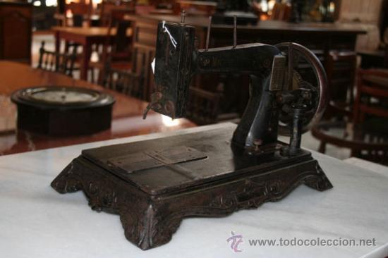 Antigüedades: MÁQUINA DE COSER DE 1800 REF.4750 - Foto 2 - 23175991