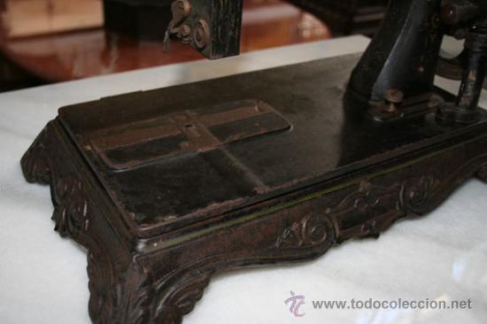 Antigüedades: MÁQUINA DE COSER DE 1800 REF.4750 - Foto 4 - 23175991