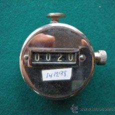 Antigüedades: CONTADOR MANUAL. Lote 24622457