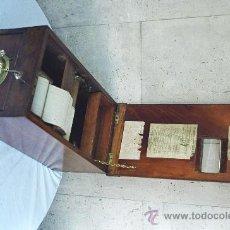 Antigüedades: CAJA REGISTRADORA EN MADERA. Lote 23344789