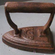 Antigüedades: MINI PLANCHA MARCA KENRICK & CO 2 (8,5CM APROX DE LARGO Y 7 CM APROX DE ALTO). Lote 23404806