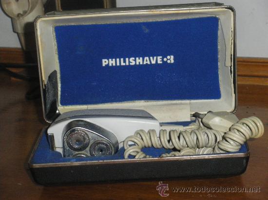 MAQUINA DE AFEITAR PHILIPSHAVE 3. (Antigüedades - Técnicas - Barbería - Varios Barbería Antiguas)