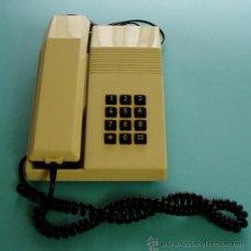 Teléfonos: TELÉFONO MODELO TEIDE. HOMOLOGACIÓN DE 1987. SELECTOR DE VOLUMEN DEL TIMBRE TIPO RUEDA-ENGRANAJE. Lote 26651898