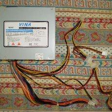 Antigüedades: FUENTE DE ALIMENTACION PC VINA 400 W. Lote 141319170