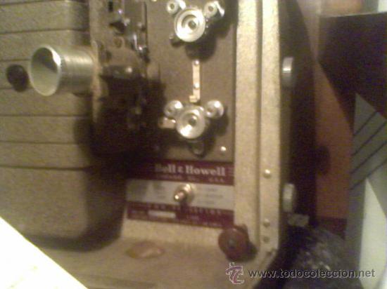 Antigüedades: maquina de cine ANTIGUA 8 mm marca BELL & HOWELL CHICAGO USA PROYECTOR ANTIGUO - Foto 2 - 26916015