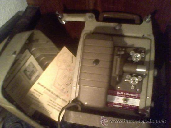 Antigüedades: maquina de cine ANTIGUA 8 mm marca BELL & HOWELL CHICAGO USA PROYECTOR ANTIGUO - Foto 4 - 26916015