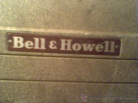 Antigüedades: maquina de cine ANTIGUA 8 mm marca BELL & HOWELL CHICAGO USA PROYECTOR ANTIGUO - Foto 5 - 26916015