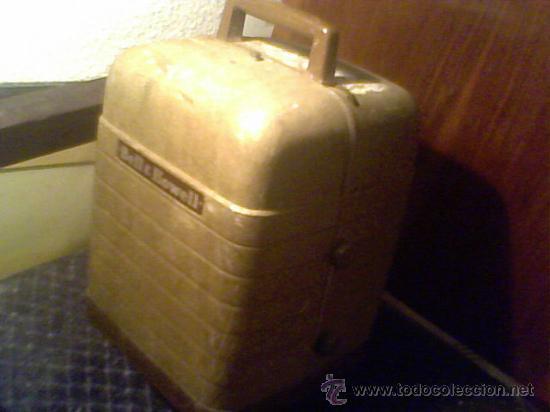 Antigüedades: maquina de cine ANTIGUA 8 mm marca BELL & HOWELL CHICAGO USA PROYECTOR ANTIGUO - Foto 6 - 26916015