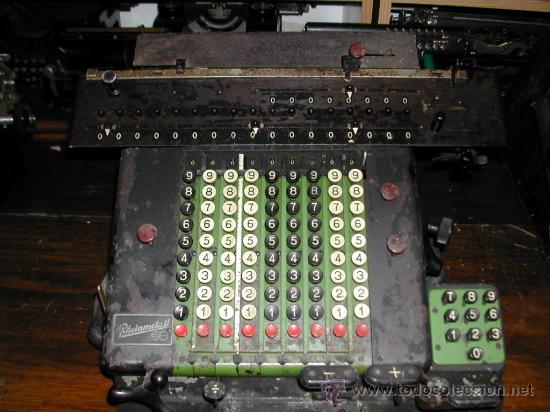 MÁQUINA DE CALCULAR RHEINMETALL (Antigüedades - Técnicas - Aparatos de Cálculo - Calculadoras Antiguas)