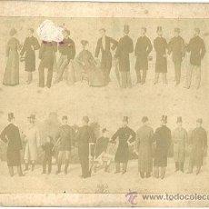 Antigüedades: 4214 -RELIQUIA CATALOGO (FIGURIN) PUBLICITARIO 1887- SOLSONÁ RAMBLA NUEVA DE S. JUAN 62 -TARRAGONA. Lote 24218847