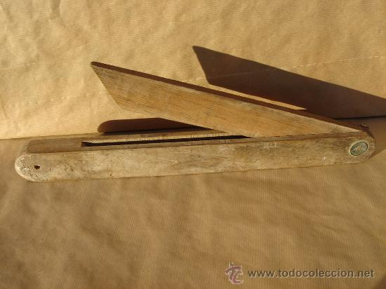 Marcador de angulos o falsa escuadra madera c comprar - Angulos de madera ...
