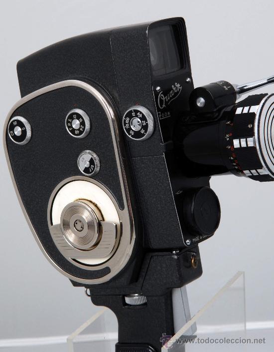 QUARZ ZOOM (Antigüedades - Técnicas - Aparatos de Cine Antiguo - Cámaras de Super 8 mm Antiguas)