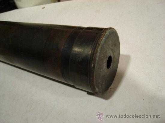Antigüedades: ANTEOJO DE TEODOLITO. N9 59160 ROSS, LONDON PATENT. 67 CM DE LARGO POR 6 DE DIAMETRO. 4 KG APROX. - Foto 3 - 26799064