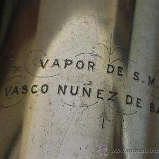 Antigüedades: CATALEJOS DEL BUQUE DE LA ARMADA VASCO NUÑEZ DE BALBOA 1856 - 1875. Lote 24439780