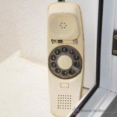 Teléfonos: TELÉFONO SUPLETORIO CON RULETA COLOR MARFIL , DEFECTOS LEER DESCRIPCIÓN .. Lote 27290289