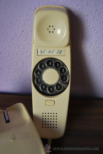 Teléfonos: TELÉFONO GÓNDOLA COLOR MARFIL - CITESA (MÁLAGA) - VINTAGE - Foto 4 - 27392847