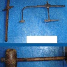 Antigüedades: - CARPINTERIA 3 ANTIGUAS HERRAMIENTAS . Lote 39393260