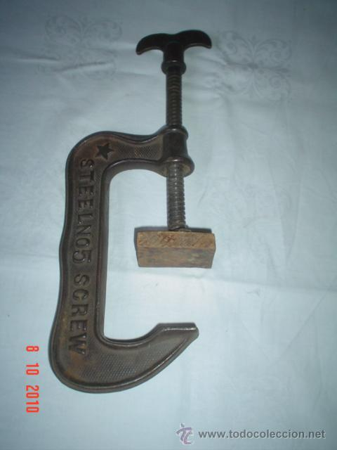 GATO DE HIERRO ANTIGUO (Antigüedades - Técnicas - Herramientas Profesionales - Mecánica)